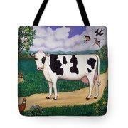 Dad's Prize Milk Cow Tote Bag