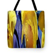 Daffodil Abstract Tote Bag