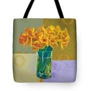 Daffodil Bronze Tote Bag