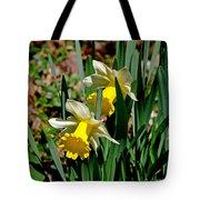 Daffodil Buddies Tote Bag
