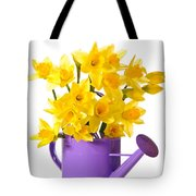 Daffodil Display Tote Bag by Amanda Elwell