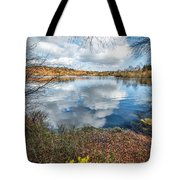 Daffodil Lake Tote Bag by Adrian Evans