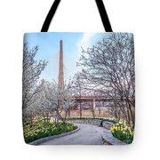 Daffodil Path Tote Bag