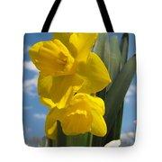 Daffodills In Spring Tote Bag
