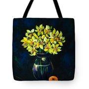 Daffodils And Fruit Tote Bag