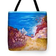 Daffodils At The Beach Tote Bag