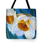 Daffodils Narcissus Tote Bag