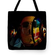 Daft Punk Pharrell Williams  Tote Bag by Marvin Blaine