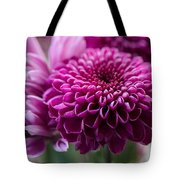 Dahlia And Mums Tote Bag
