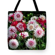 Dahlia Love Tote Bag