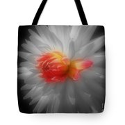 Dahlia Flower Beauty Tote Bag