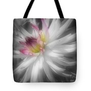 Dahlia Flower Splendor Tote Bag