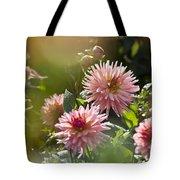 Dahlia Garden Tote Bag