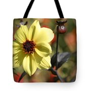 Dahlia Knockout Tote Bag