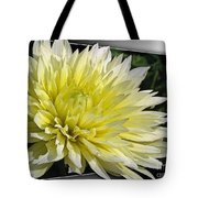 Dahlia Named Canary Fubuki Tote Bag