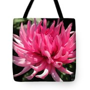 Dahlia Named Pretty In Pink Tote Bag