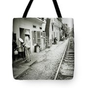 Daily Life In Hanoi Tote Bag
