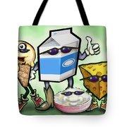 Dairy Food Group Tote Bag