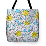 Daisies Daisies Tote Bag
