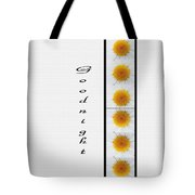 Daisies Goodnight Tote Bag