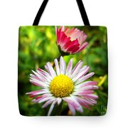 Daisies In Januray Tote Bag