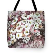 Daisy Blush Remix Tote Bag