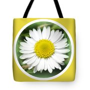 Daisy Closeup Tote Bag