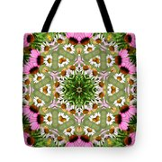 Daisy Daisy Do Kaleidoscope Tote Bag