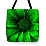 Daisy Daisy Neon Green Tote Bag