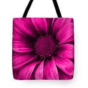 Daisy Daisy Neon Pink Tote Bag