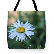 Daisy Faith Tote Bag