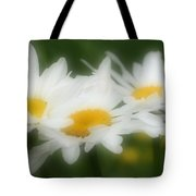 Daisy Flower Trio Tote Bag