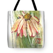 Daisy Girl Tote Bag by Sherry Harradence