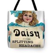 Daisy Headache Cure Tote Bag