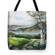 Daisy Lane Tote Bag