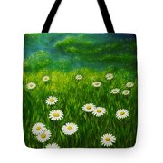 Daisy Meadow Tote Bag