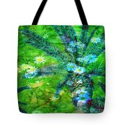 Daisy Palms Tote Bag