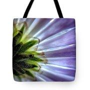 Daisy Petals Abstract Macro Tote Bag
