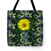 Daisy Poster Tote Bag