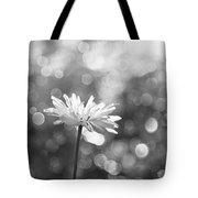 Daisy Rain Tote Bag by Theresa Tahara