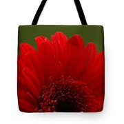 Daisy Red Tote Bag