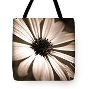 Daisy Shimmer Tote Bag