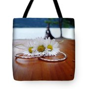 Daisy Unity Rings Tote Bag