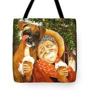 Daisy's Mocha Latte Tote Bag