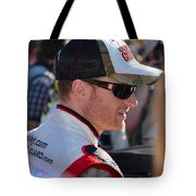 Dale Earnhardt Jr. Tote Bag