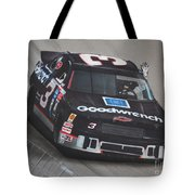 Dale Earnhardt Wins-wave To The Crowd Tote Bag