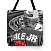 Dale Jr Tote Bag by Karol Livote