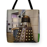 Dalek At The Bbc 2 Tote Bag