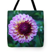Dalhias At The Gorge White House In Hood River Oregon Tote Bag