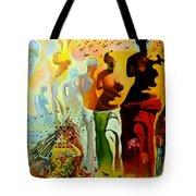 Dali Oil Painting Reproduction - The Hallucinogenic Toreador Tote Bag
